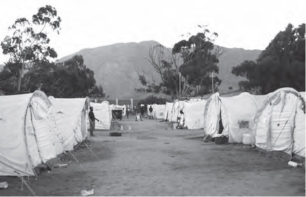 De Doons Internally Displaced Persons camp, March 2010, De Doorns, South Africa. Photo credit: Ashley Murphy